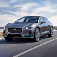 I-Pace electric car by Jaguar