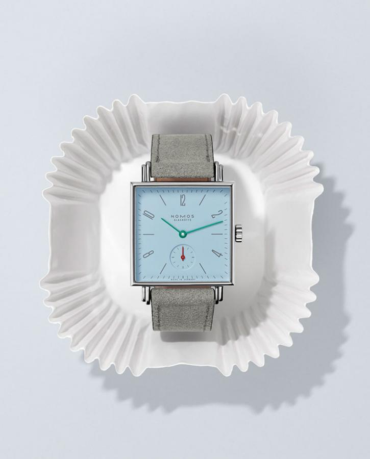 Nomos Glashütte watch, Tetra Petit Four series
