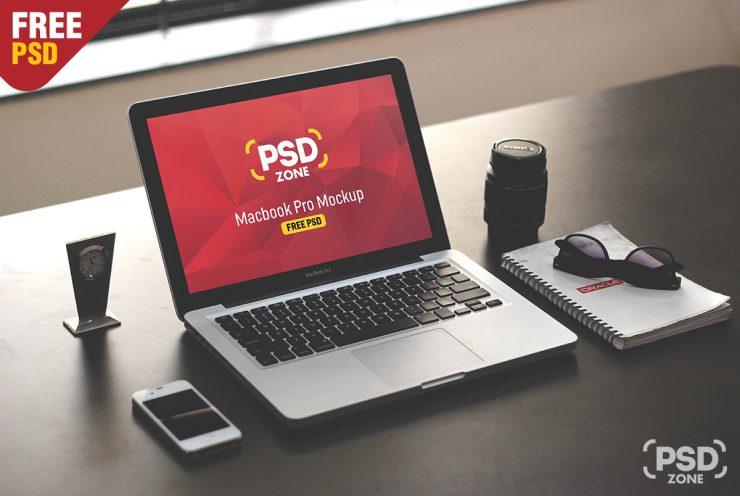 Macbook-Pro-on-Desk-Mockup-PSD-740x496