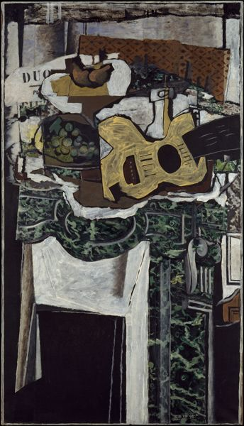 Georges Braque - The Green Mantle Piece