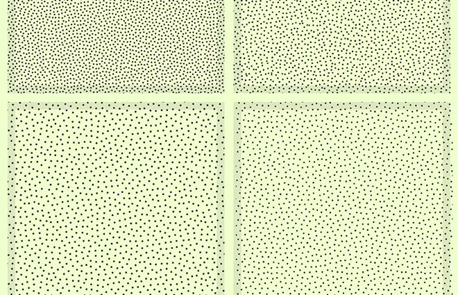 Vector dot patterns