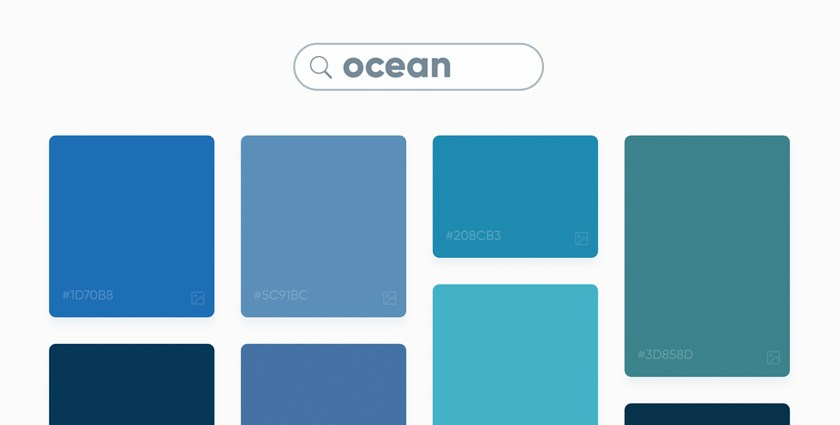 Picular Google search results for the term 'Ocean""