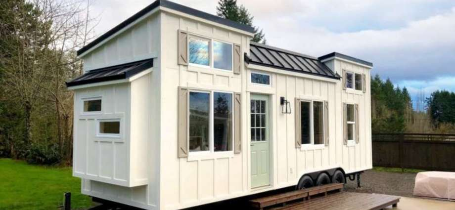 This Tiny Home is Only 238 Square Feet But Packed to the Brim With Interior Design