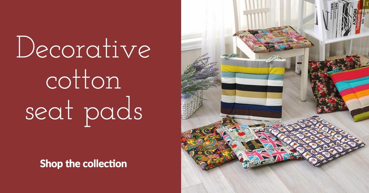 decorative seat pads