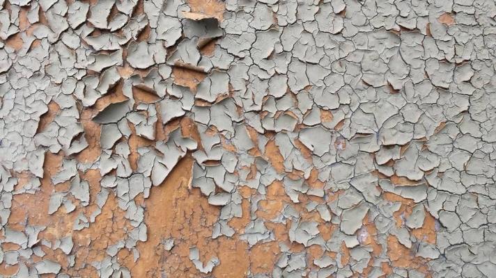 grunge peeling wall