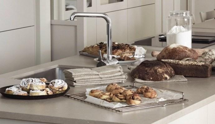 Beige kitchen by Marbodal