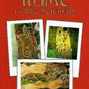 Klimt: 16 Art Stickers (Dover Art Stickers) Paperback – April 29, 1999