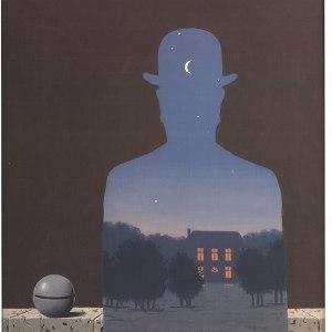 L'Heureux Donateur by Rene Magritte Art Print Poster