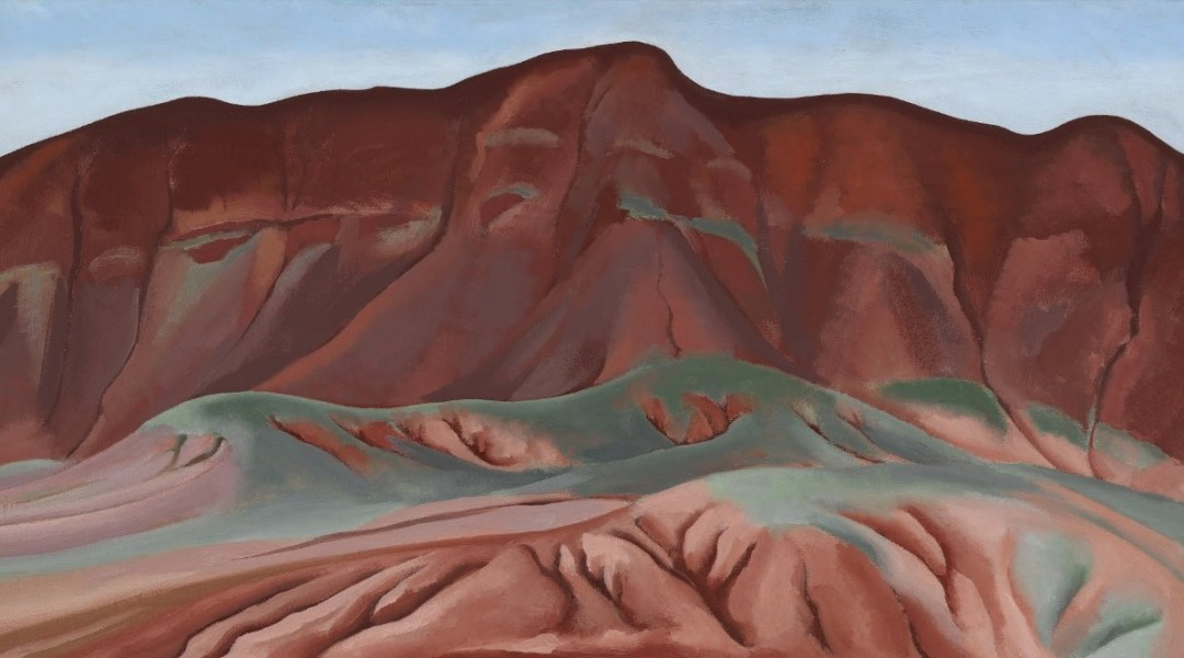 Purple Hills Ghost Ranch - 2 - Purple Hills No II - Georgia O'Keeffe