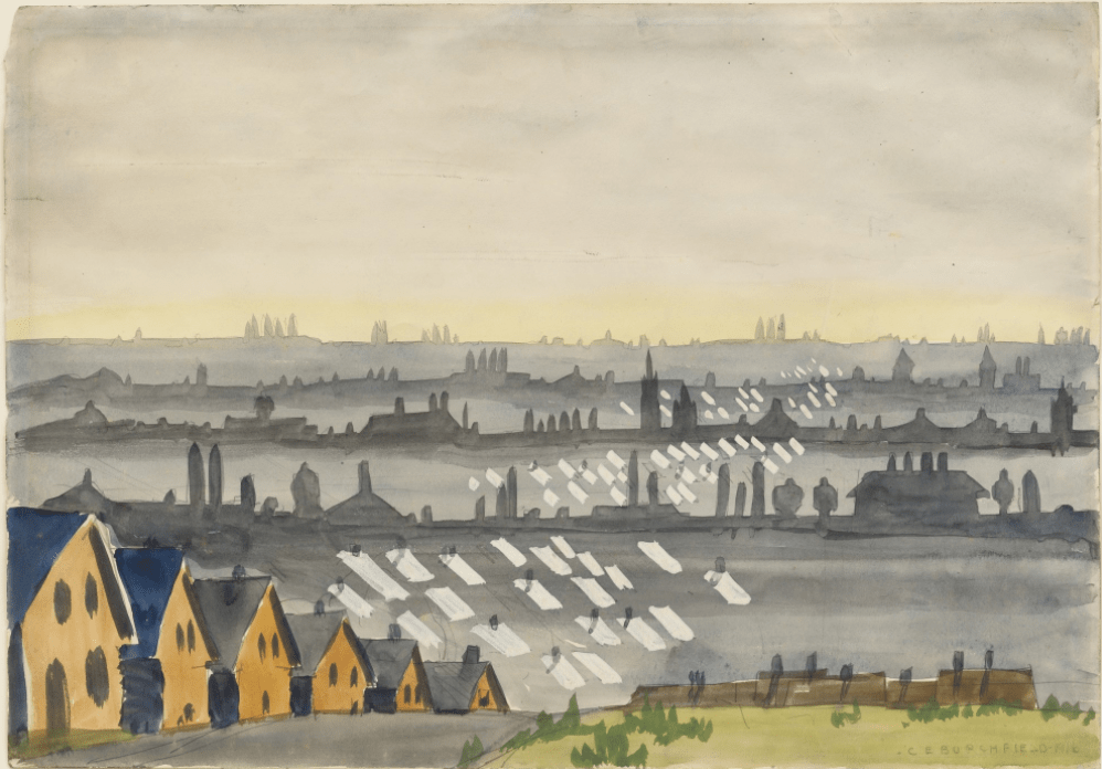The City by Charles Burchfield (1916)