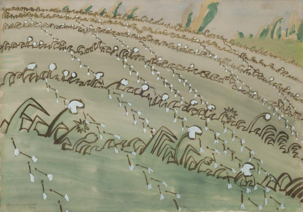 Drifting Dandelion Seeds by Charles Burchfield