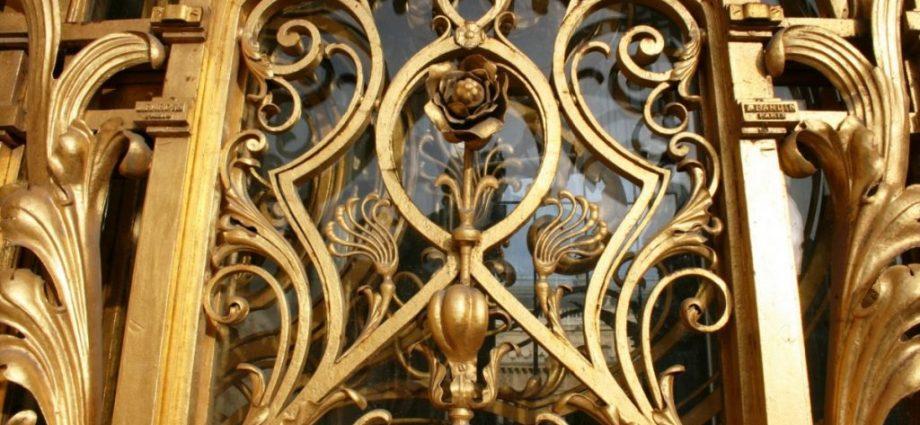 Golden Gates Paris an example of Art Nouveau