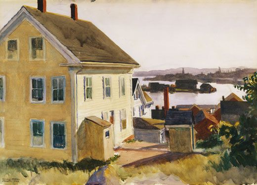 Hopper House and Harbour 1924