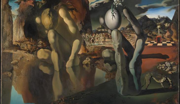 Metamorphosis of Narcissus 1937 by Salvador Dali