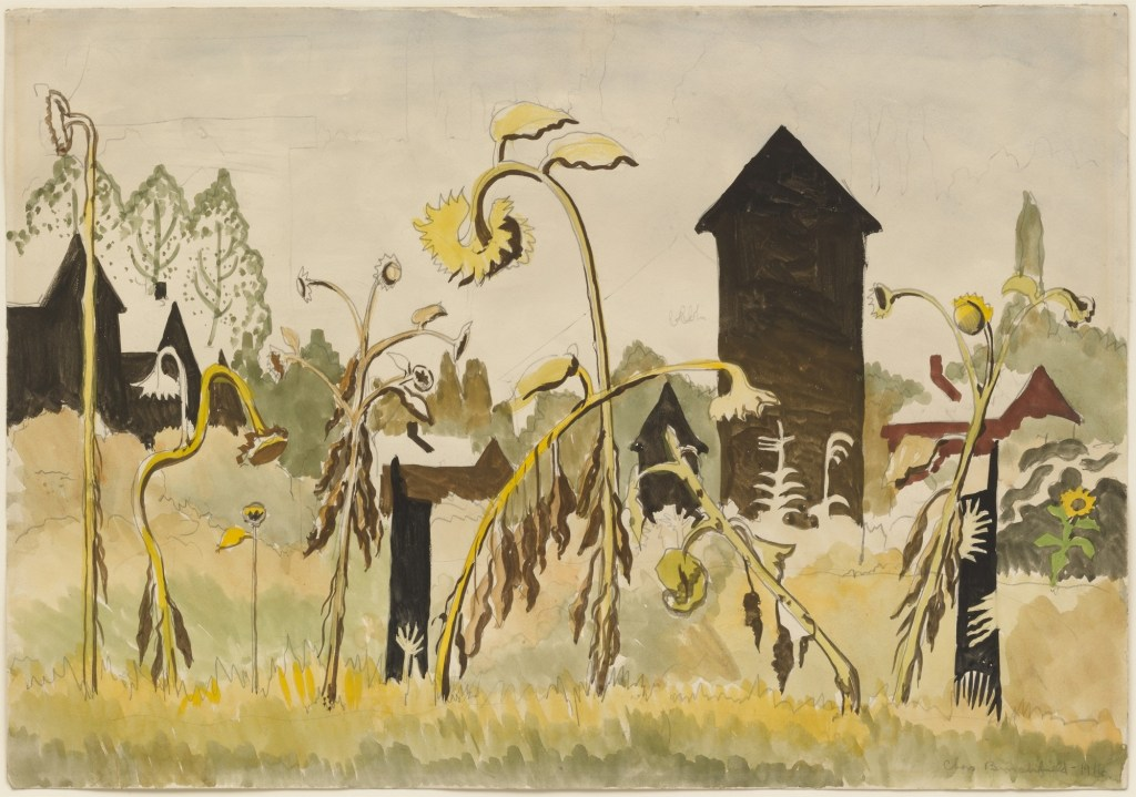 Rogues Gallery (1916) by Charles Burchfield