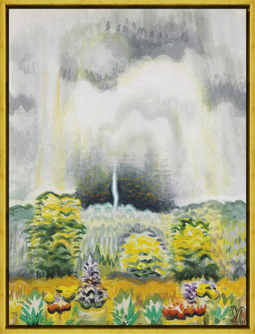 The Distant Boom of Thunder by Charles Burchfield Art Print
