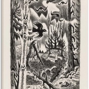 Crows by Charles Burchfield
