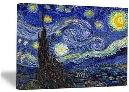 Starry Night by Van Gogh Famous Oil Paintings