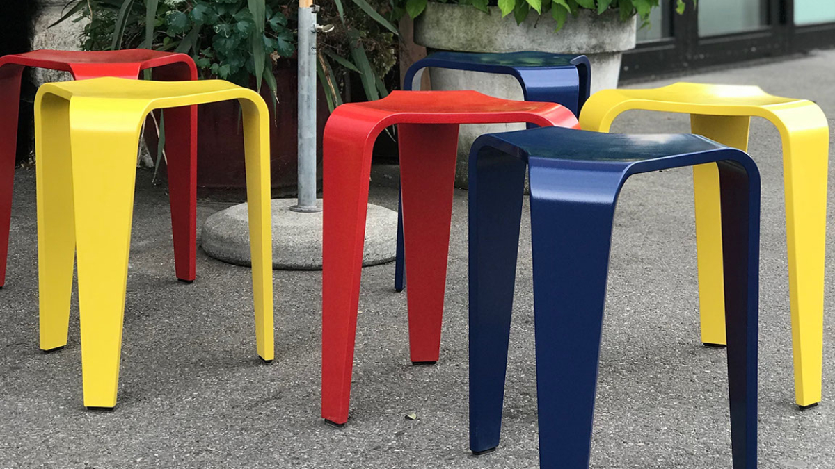 Michel Péclard, stool, 1955