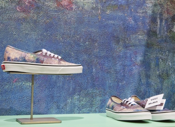 Street wear Vans collaboration with MoMA