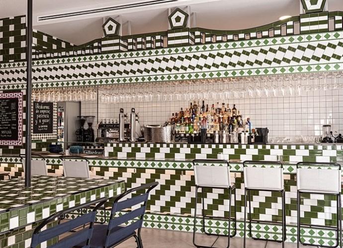Eclectic interior for Valencia Restaurant