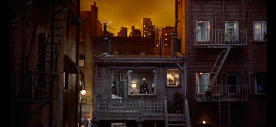 Rear Window Set Director Hal Pereira