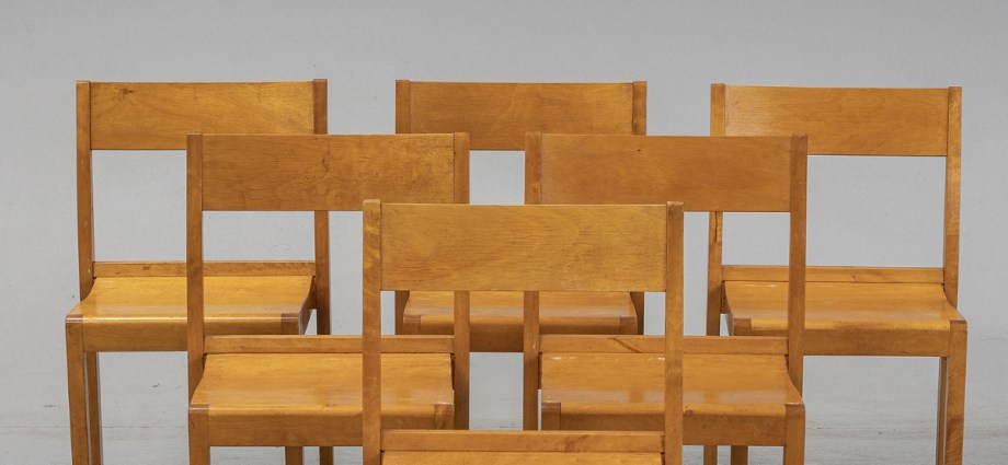 Sven Markelius Chairs