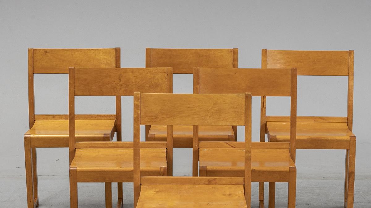 Sven Markelius Chairs