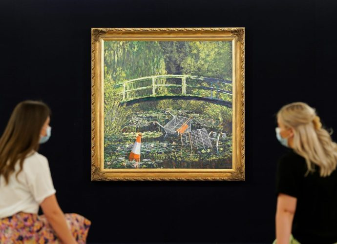 Banksy's 'Show Me The Monet' To Star In Sotheby's 'Modernites/Contemporary' Evening Sale Series