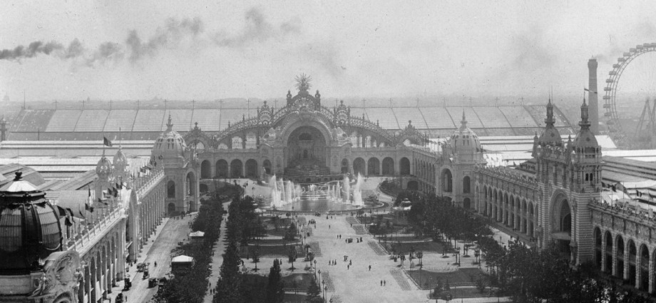 Exposition Universalle Black and White 1900