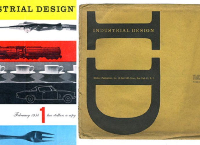 Industrial Design Magazine with Cover