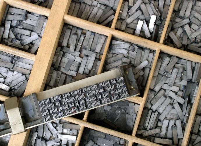 Movable type - Gutenberg