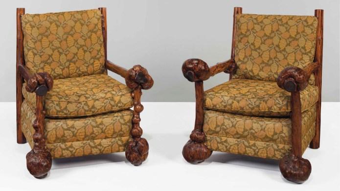 Thomas Molesworth armchairs