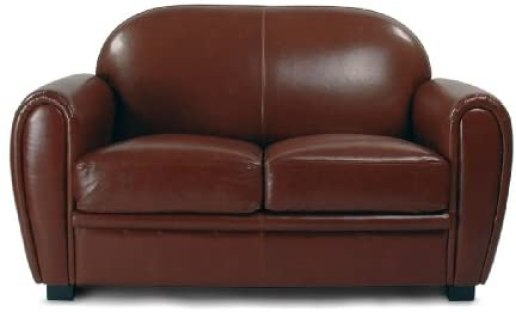 Brown Sofa by Enzo Frateili