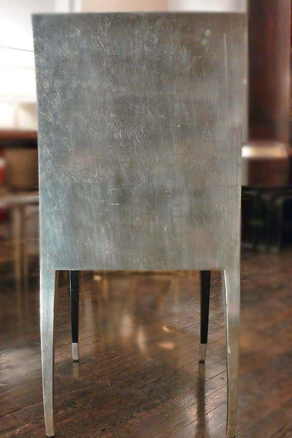 Aluminium furniture by Geoffrey Beenee