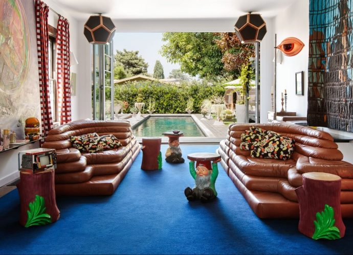 Eclectic Los Angeles Wonderland Home