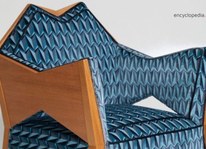 Chair in Czech cubist style