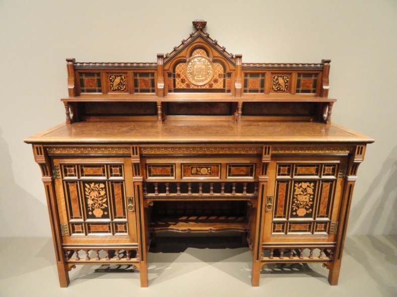 Drawing-Room Cabinet, 1871-1872, designed by Bruce James Talbert,