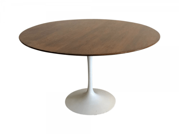 Eero Saarinen for Knoll Walnut Tulip Dining Table