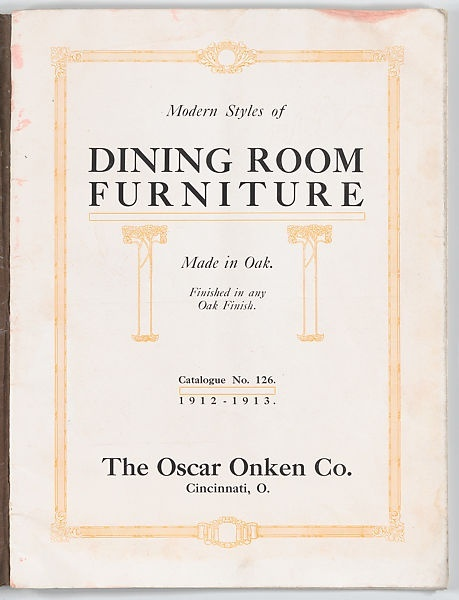 Oscar Onken - Modern Styles of Dining Room Furniture