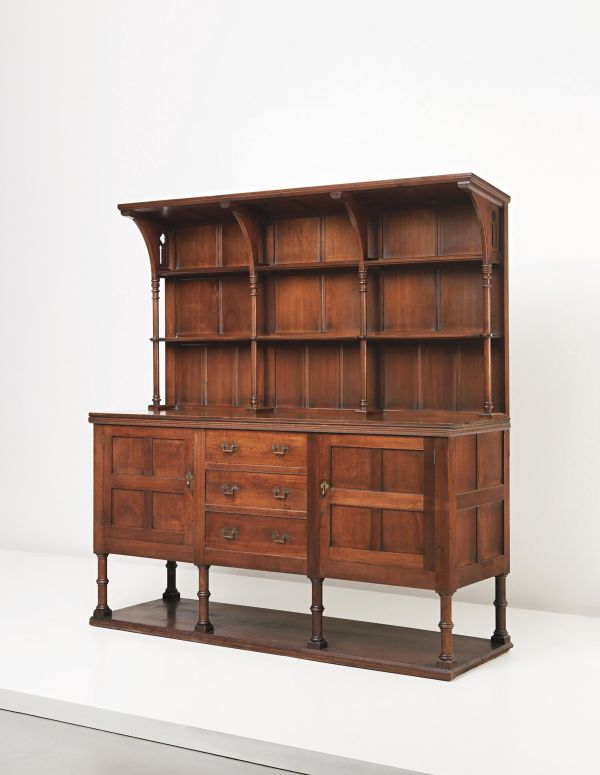 Philip Webb - Early and rare sideboard, circa 1862
