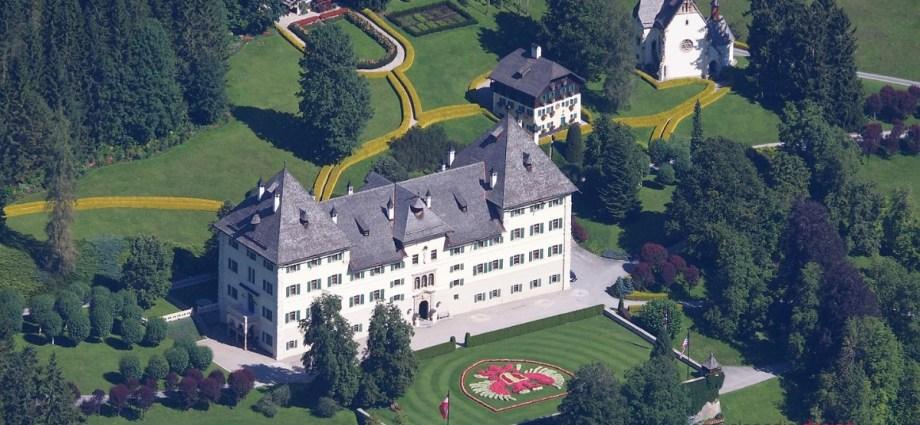 Schloss Blühnbach castle in Austria