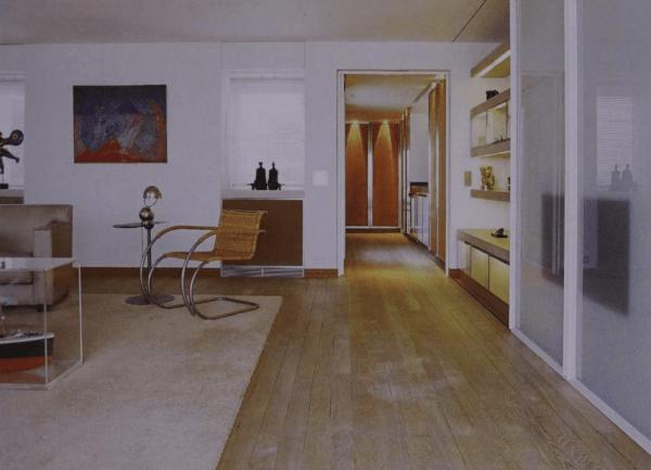 Free-flowing space penhthouse Andrée Putman