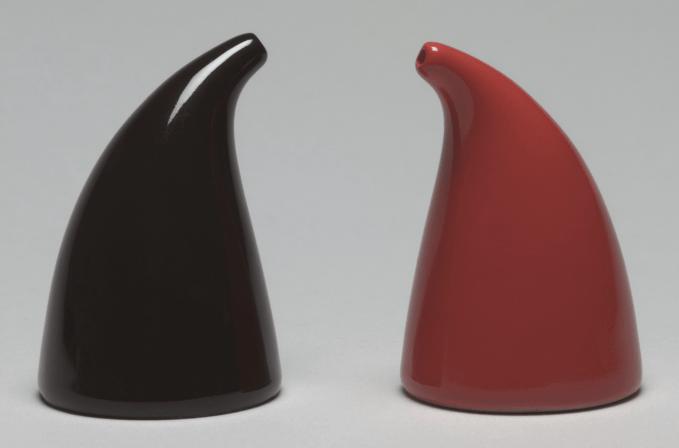 Salt and Pepper Shakers 1947 designed by Kaj Franck