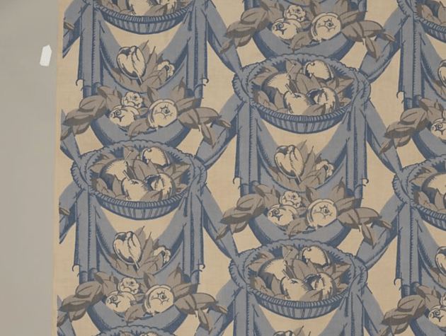"""Draperies"" Textile ca. 1919 André Mare"