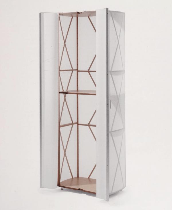 No. 385 Foil Cupboard (1994) designed by Kurt Thut