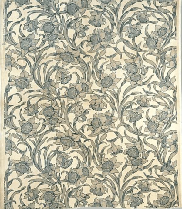 Sample fabric designed by Candace Wheeler