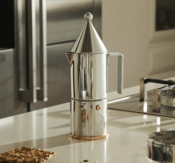 La conica, Espresso Coffee Maker designed by Aldo Rossi