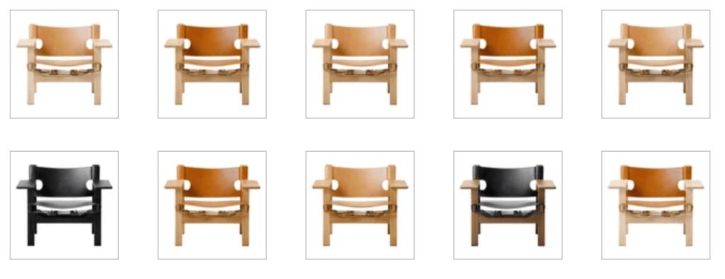 Spanish Chair Børge Mogensen for Fredericia Furniture