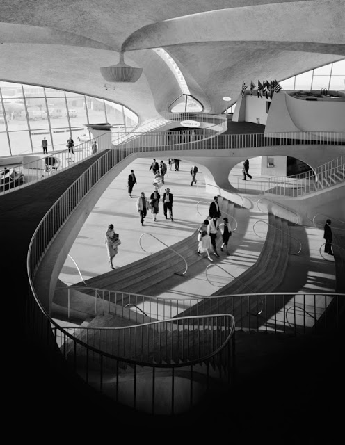Terminal TWA JFK Airport designed by Eero Saarinen